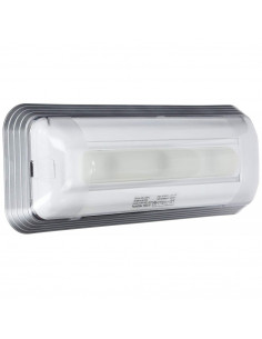 Normalux DUNNA DAL3-100-2 100 Lúmenes Permanente 3 Horas Autotest Luz de Emergencia