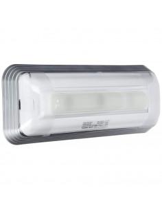 Normalux DUNNA DAL-100-2 110 Lúmenes Permanente 1 Hora Autotest Luz de Emergencia