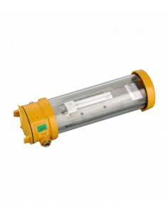 Normalux ANTIDEFLAGRANTE EXA-200 200 Lúmenes No permanente 1 Hora Autotest Luz de Emergencia Antideflagrante