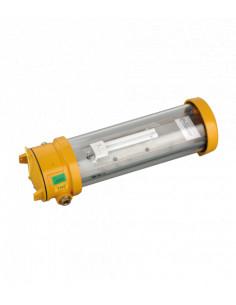 Normalux ANTIDEFLAGRANTE EXA-400 400 Lúmenes No permanente 1 Hora Autotest Luz de Emergencia Antideflagrante